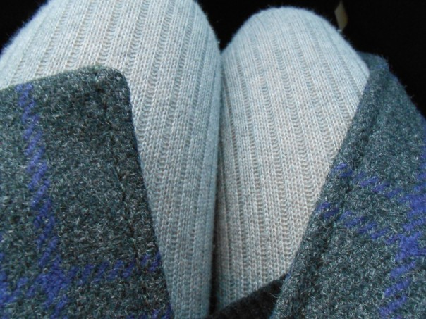 Light grey wool leggins by Falke. Falke is one of the best brands I know, when it comes to stockings and socks, great feeling and quality.