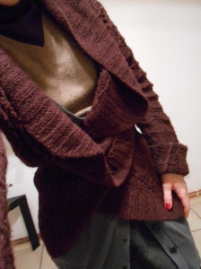 Over size wool cardigan by Tara Jarmon