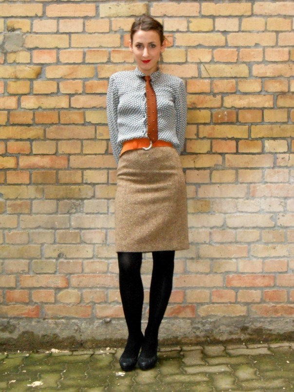 Ties and classic skirts forever!